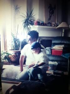 Always finding the sun. My dad, David Wong Jr. 1966-1997.
